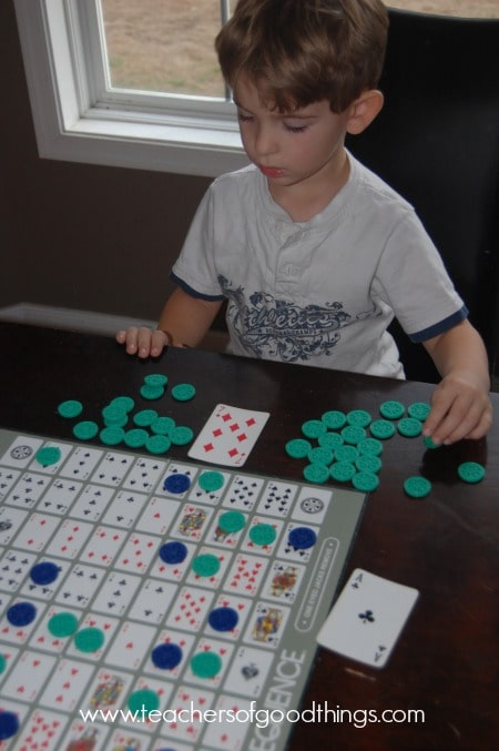 Teaching Number Recognition with Sequence www.joyinthehome.com