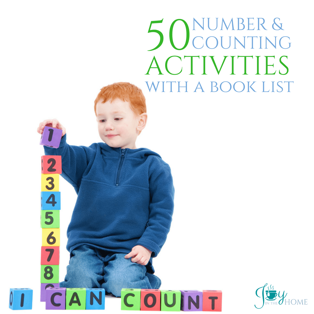 50 Number and Counting Activities with a Book List