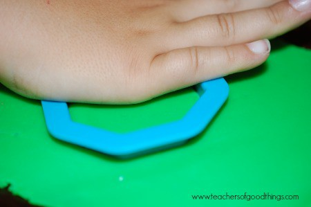 Learning Shapes with Play Dough - Octagon www.joyinthehome.com.jpg