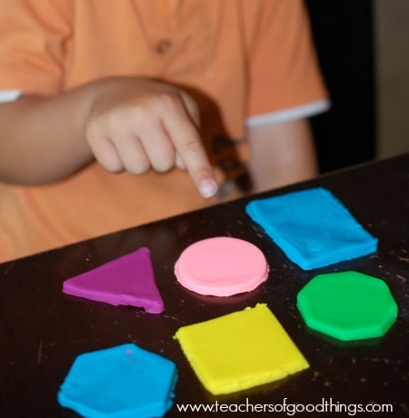 Learning Shapes with Play Dough - six www.joyinthehome.com.jpg