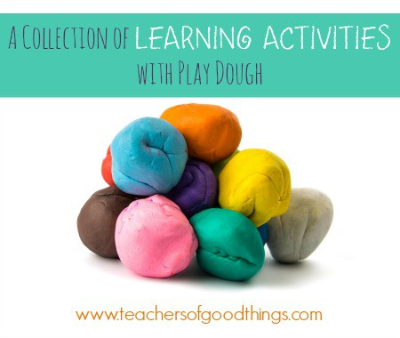 A Collection of Learning Activities with Play Dough www.joyinthehome.com