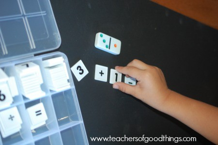 Addition with hands-on learning | www.joyinthehome.com