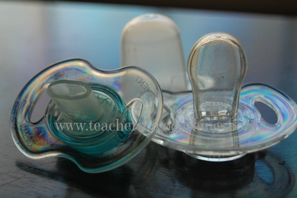 steps to breaking the pacifier habit