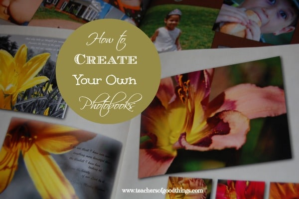 How to Create Your Own Photobook www.joyinthehome.com