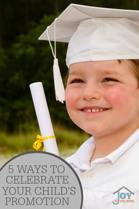 5 Ways to Celebrate Your Child