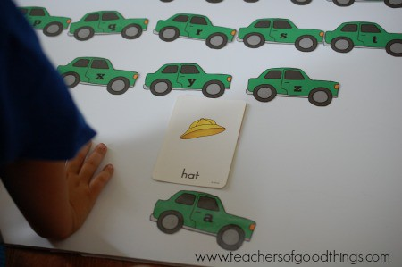 How to Teach Spelling with Cars - Build a word www.joyinthehome.com.jpg