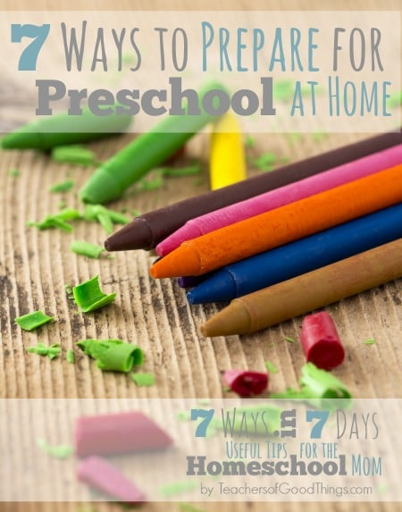 7 Ways to Prepare for Preschool at Home www.joyinthehome.com