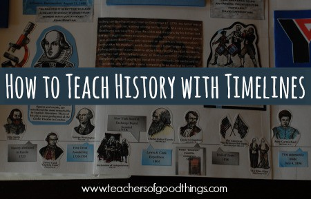 How to Teach History with Timelines | www.joyinthehome.com