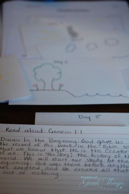 DIY Bible Lesson Cards for Learning on the Go | www.joyinthehome.com