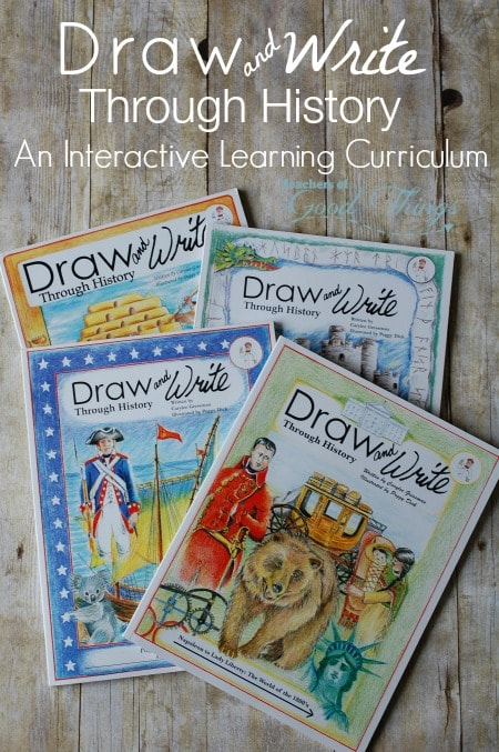Draw and Write Through History: An Interactive Learning Curriculum | www.joyinthehome.com