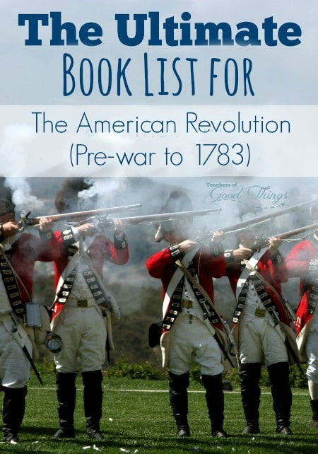 The Ultimate Book List for the American Revolution (Pre-war to 1783) | www.joyinthehome.com