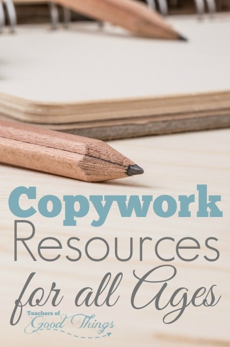 Copywork Resources for All Ages | www.joyinthehome.com