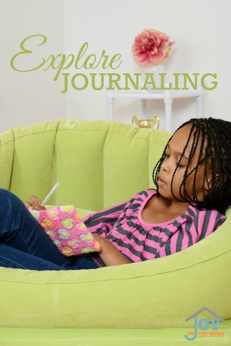 Explore Journaling - Part of the 31 Days of Exploring Free Afternoon Activities | www.joyinthehome.com