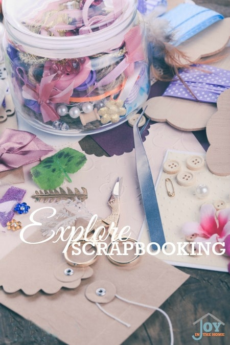 Explore Card Making - Part of the 31 Days of Exploring Free Afternoon Activities | www.joyinthehome.com