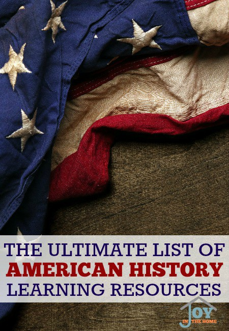 The Ultimate List of American History Learning Resources