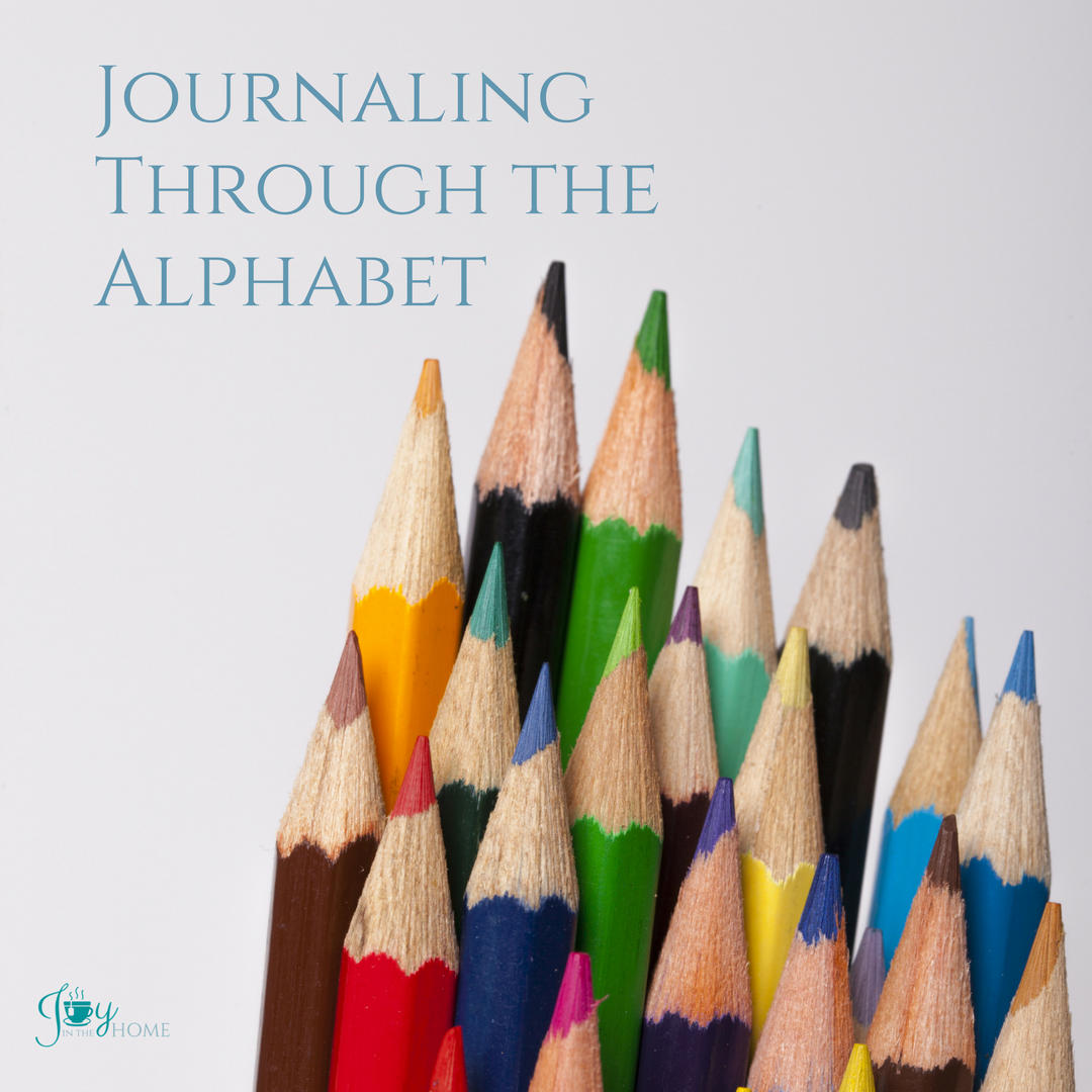Journaling Through the Alphabet