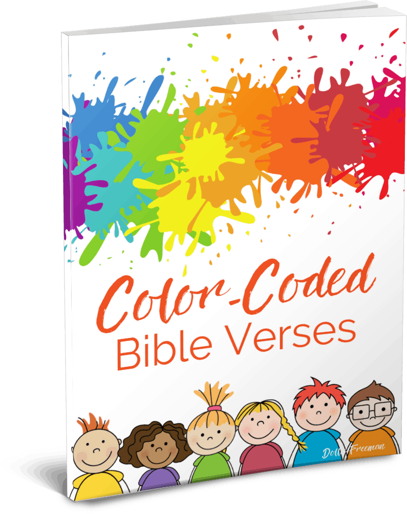 - Color-coded Bible Verses - The Joyfilled Mom